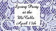 Spring Party at the McCalls